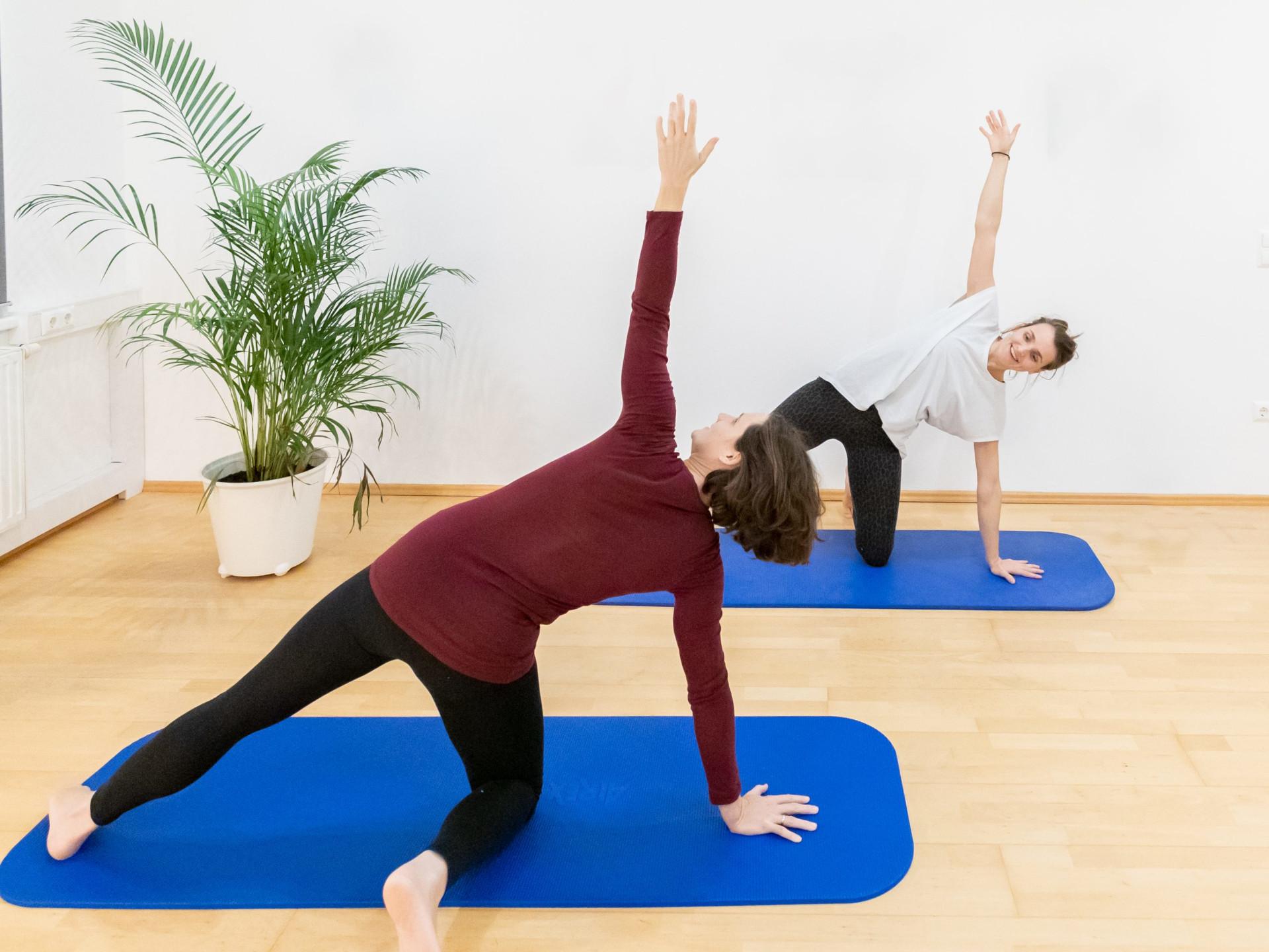 Yoga Seitendehnen